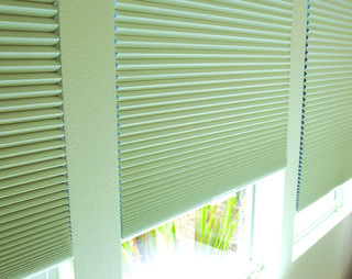 Thermacell honeycomb blinds