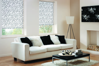Roller blind - Chatsworth - Black