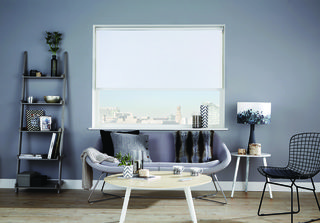 Coral White Roller Blind