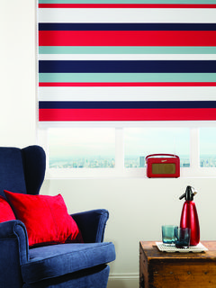 Havana Blues Roller Blind