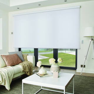 Romans Ritz Cotton Roller Blind