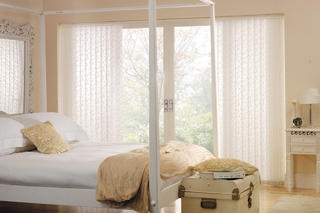 Vertical blind - Chatsworth - White