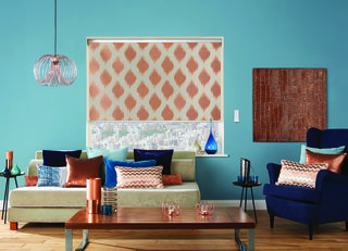 Farrah Copper Roller Blind