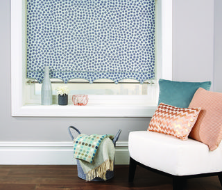 Silver Melody Roller Blind