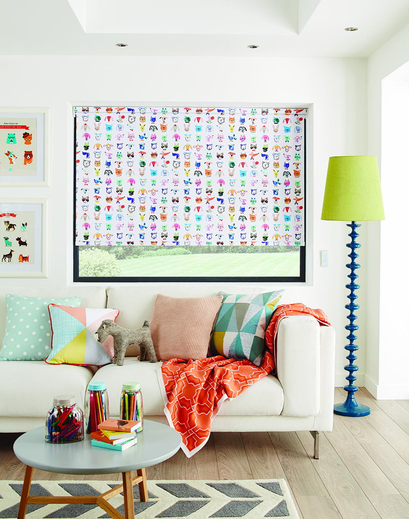 Party Animals Boogie Roller Blind Gallery All About Blinds