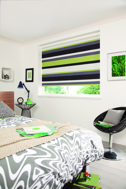 Roller blind - Havanna - Lime - Gallery - All About Blinds